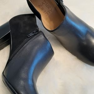 🆕️Womens naturalizer Sybil Block Heel Ankle Boots